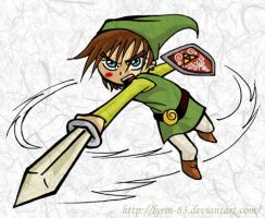 Me as Link by Lyrin-83