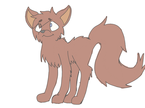 Just a sketch of a cat. by TheOptimisticalEmo