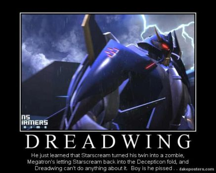 Transformers: Prime Patch Dreadwing by Onikage108