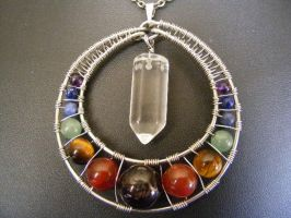 Chakra Pendant by BacktoEarthCreations