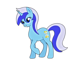 Colgate or Minuette - She's so shiny. by jazzy-rose-hxc