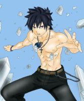 Gray Fullbuster - Fairy Tail by Hinotsuki