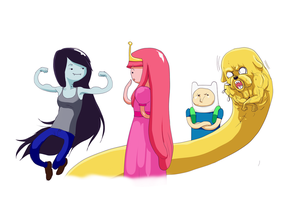 AT Style - Bubbleline n Finn n Jake by Afterlaughs