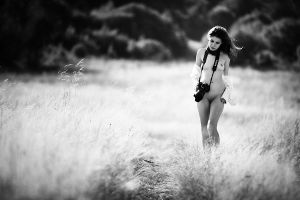 Canon Girl in the Wild by athrawn