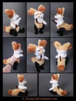 Plushie Commission: Braixen the Pokemon