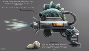 DAY 198. Slug Shooter (30 Minutes) by Cryptid-Creations