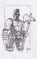 Ares Sketch by Assurancetourix