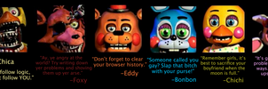 Inspirational Quotes From the FNAF Crew by AskTheFazbearCrew