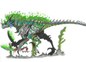 felfire raptor by Hellraptor by All-Crazy-Reptiles