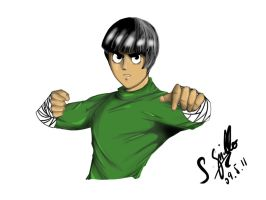 Rock Lee - Naruto by IlCapoBianco