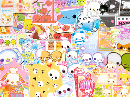 kawaii wallpaper by cupcake-bakery