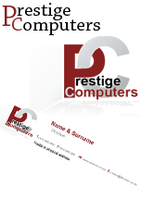 Prestige Computers - Corporate Identity Project by PixelTotems