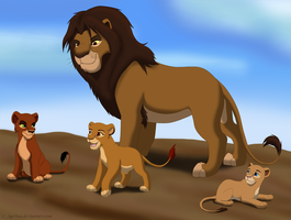 The First King and his Princesses by Aariina