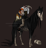 Dullahan by marshmellowbrains