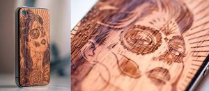 iPhone Wood Tattoo by DZNFlavour