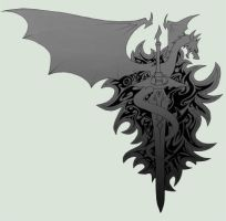 BlackDragonKnights Insignia by shanku