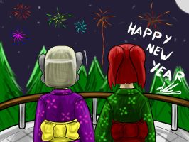 Happy New Year by JHcolley