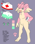 REF - Mynt the Audino by SassCannon
