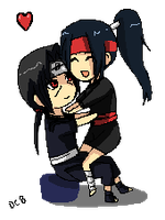 ItaAyu pixel commission by DannyC8