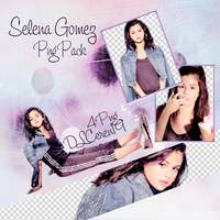 Png Pack (3) Selena Gomez by DLCeren19