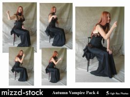 Autumn Vampire Pack 4 by mizzd-stock