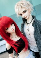 London and Maximillian by Mouldysweets