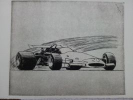 1970 GRAND PRIX Formula 1 Etching by daharid