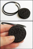 Life Size Oreo Necklace by Bon-AppetEats