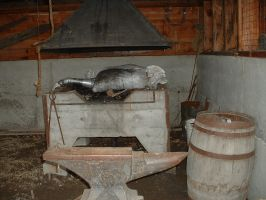 blacksmiths lair by JensStockCollection
