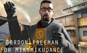 Gordon Freeman for MMD by TheDovahBrine