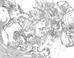 WoW Curse of the Worgen 4 p2-3 by LudoLullabi