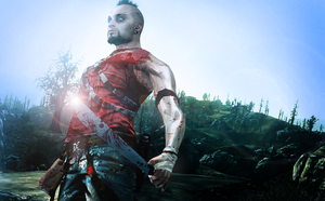 Far Cry 3 - Vaas - Island Psycho by SovietMentality