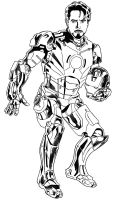 Iron Man by arcarsenal