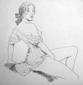 Tribute to Milo Manara by stevie-wydder