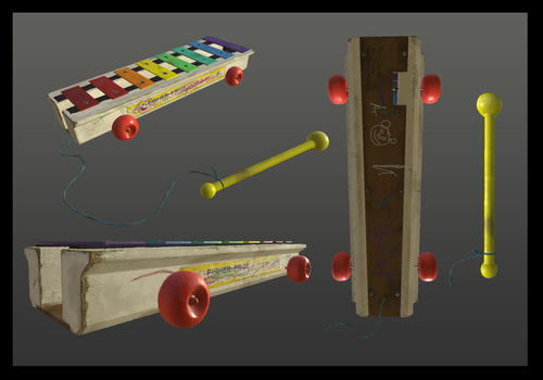 Xylophone Model by Mo8