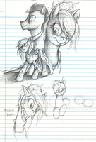 Derpy Aria Sketch Plans by AugustRaes