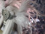 White Feather Crown by ChocolateDecadence
