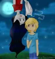 I've got your hat by Drawing-Heart