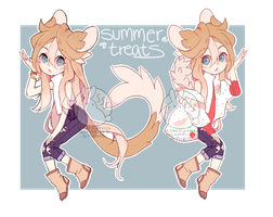 [adoptable] SUMMER TREATS by Steamed-Bun