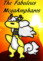 Fabulous MegaAmpharos by thegamingdrawer