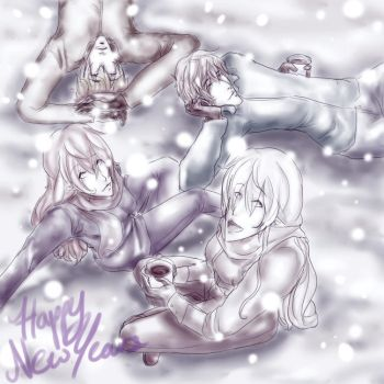 Happy New Year by IfYouGiveAWolfAPen