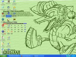Vector September Desktop by BabylonRogues101