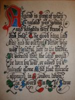 The Sword In The Stone - Manuscript by Vilyandil