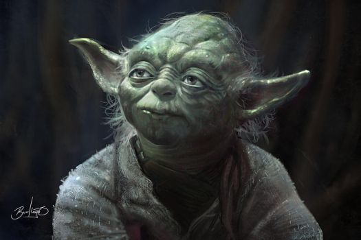 Yoda by Simon Buckroyd by Binoched