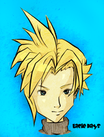 Cloud Strife 2 by oober-zombie