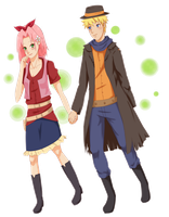 CM: The Fox Bandit NaruSaku by Sukieyo