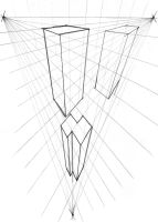 3 point perspective by Akouma