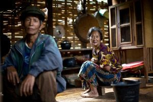 Laos Village Life VIII by emrerende