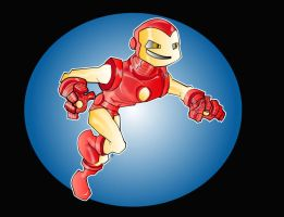 iron man by kevtoons