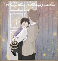Sherlock + Mycroft - My little brother by RedPassion
